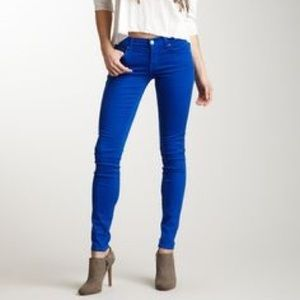 Paige cobalt blue skinny jeans